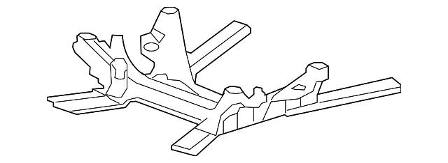 Engine Cradle Gm 20911365 Gmpartsnow