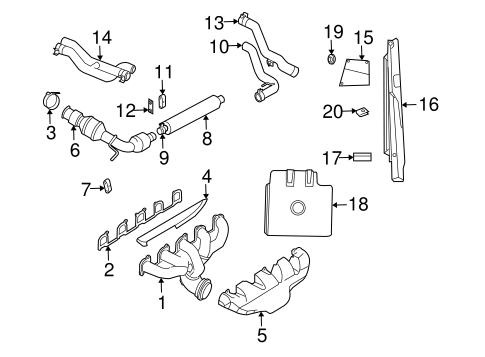 exhaust manifold for 2004 dodge viper. Black Bedroom Furniture Sets. Home Design Ideas