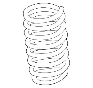 Coil Spring - BMW (31-33-6-795-431)