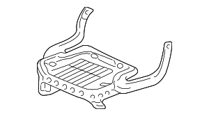Seat Cushion Frame 81336-S9V-A02 Honda Genuine