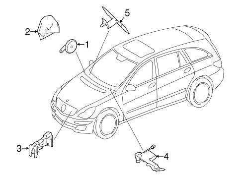 Alarm System For 2012 Mercedes Benz R 350