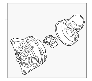 Alternator - Volkswagen (038-903-018-DX)