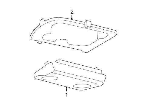 Overhead Console Scat