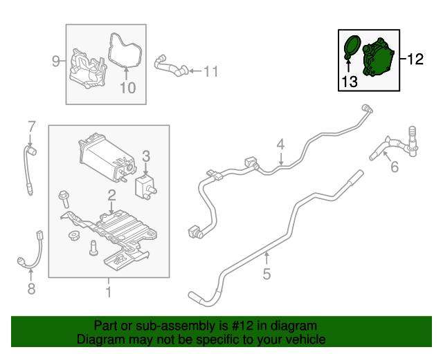 Ford Fusion//Escape 1.5L ecoboost vaccum pump assembly