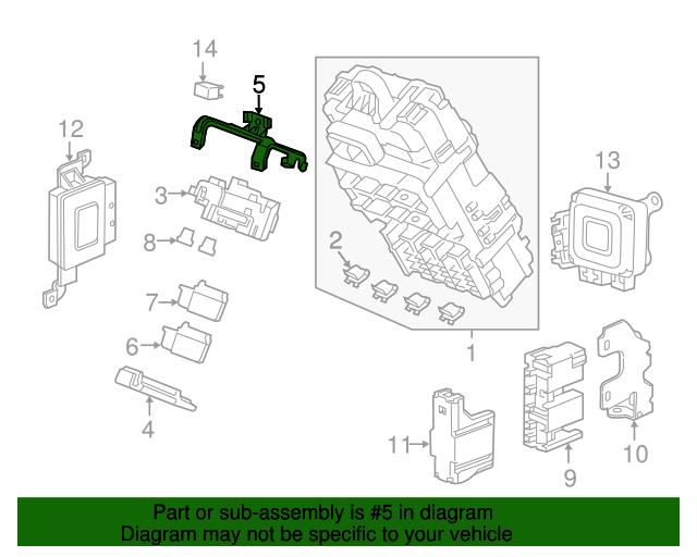 bracket sub fuse box honda 38216 szt a00 xportauto bracket sub fuse box