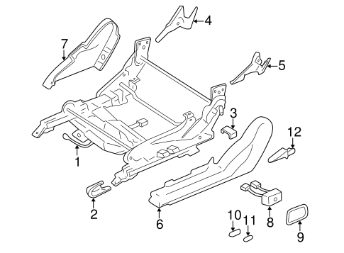 Tracks Components For 2001 Mitsubishi Eclipse Gt
