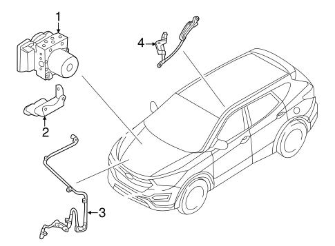 Anti Lock Brakes For 2017 Hyundai Santa Fe