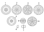Wheel, Alloy - Toyota (42611-06F90)