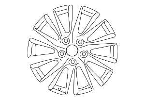 Wheel, Alloy - Toyota (42611-06E20)