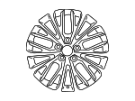 Wheel, Alloy - Toyota (42611-06E10)