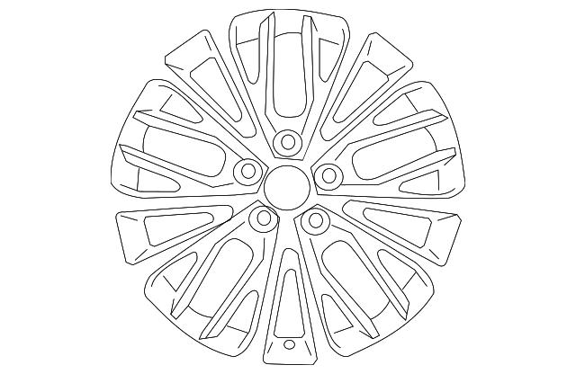Wheel, Alloy - Toyota (42611-06F70)