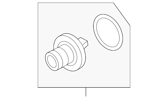 Genuine Subaru Engine Coolant Thermostat 21210aa190