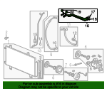 Pipe, Air Conditioner - Honda (80321-T5L-Y01)