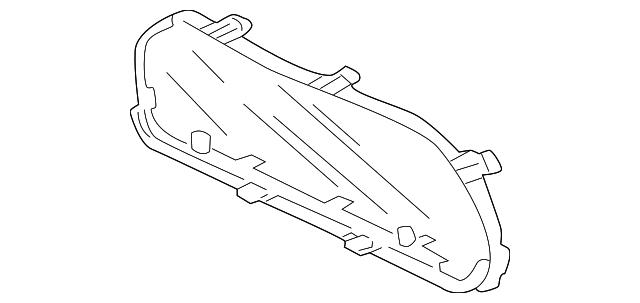 Honda Genuine 78155-S5L-M11 Visor