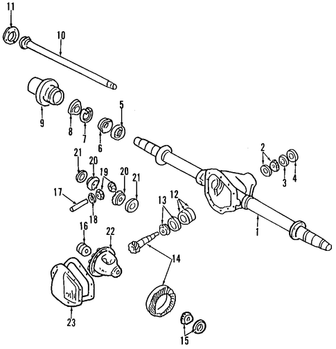 axle cover