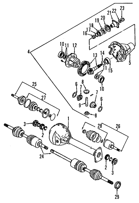 2001 Isuzu Rodeo Engine Wiring Harness Diagram
