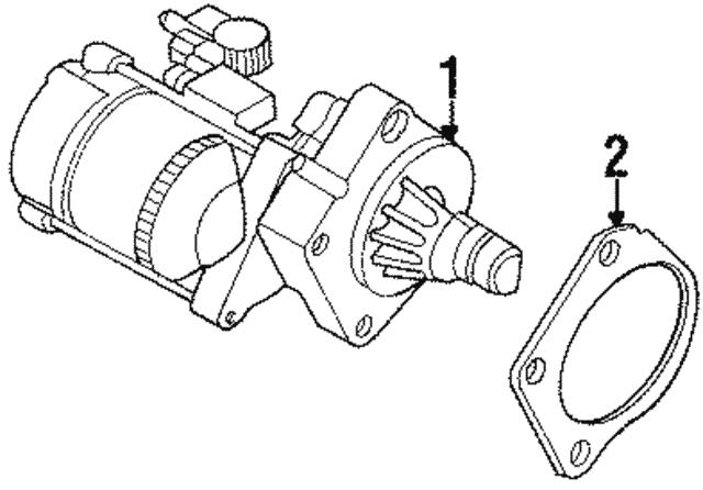 Starter Mopar Rl609346ab: Chrysler Starter Wiring Diagram At Ultimateadsites.com