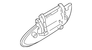 Handle, Outside - Nissan (82607-2Y908)