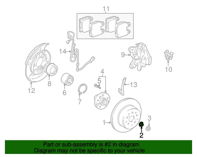 Lexu Exhaust System Diagram