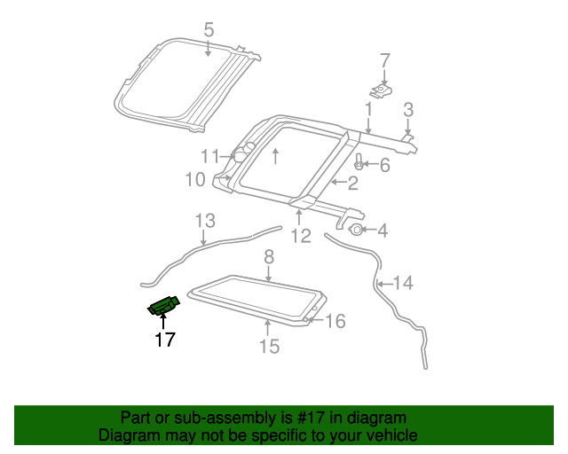 Sunroof Switch Mopar 4602687aa Mymoparparts