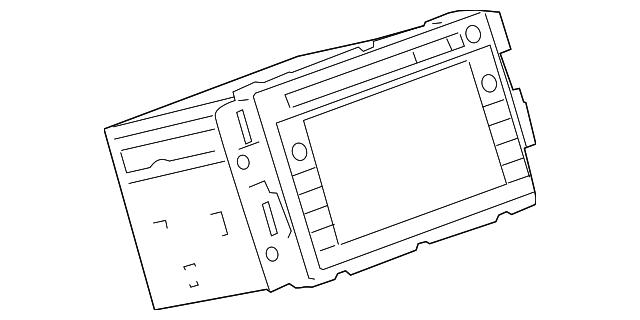 gm radio 20968153 chevydirectparts. Black Bedroom Furniture Sets. Home Design Ideas