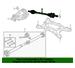 Axle Assembly - Mopar (52123971AD)