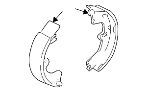 Brake Shoes - Toyota (04495-63011)