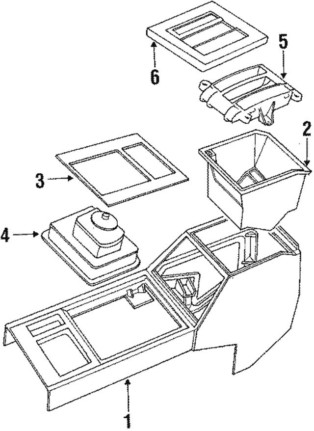 1989 1994 Land Rover Boot Btr8323