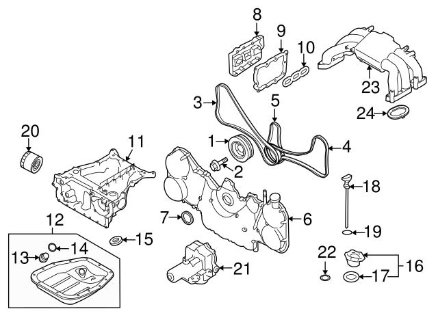 1990 2020 Subaru Rear Main Seal 806786040 Subaru Parts Store
