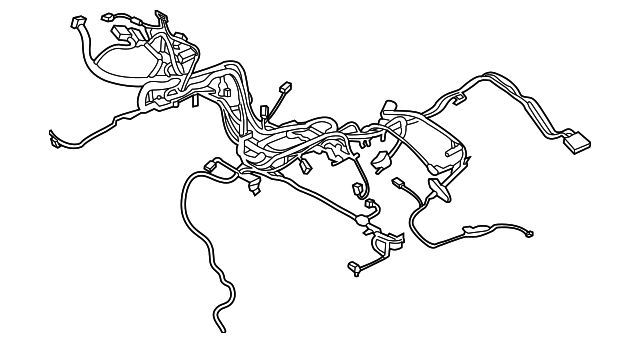 wire harness ford fu5z 12a581 ax xportauto rh xportautoparts com F150 Alternator Wiring Diagram Ford 3 8 Engine Swap Wiring Harness