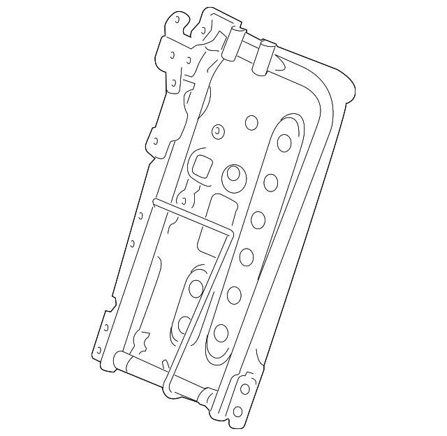 Boch Honda West >> Frame, R Rear Seat-Back - Honda (82126-TP6-A01)   Honda Car Parts Direct