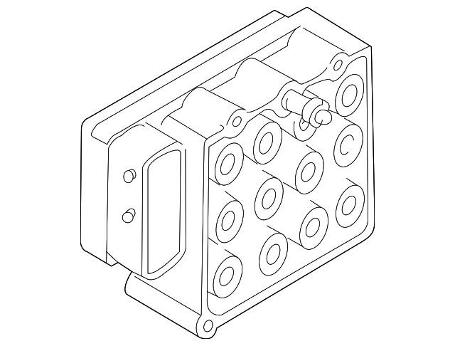 1997 2001 Bmw Control Module 34 51 6 756 289