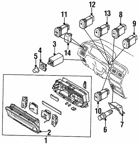 Liftgate For 1997 Isuzu Rodeo