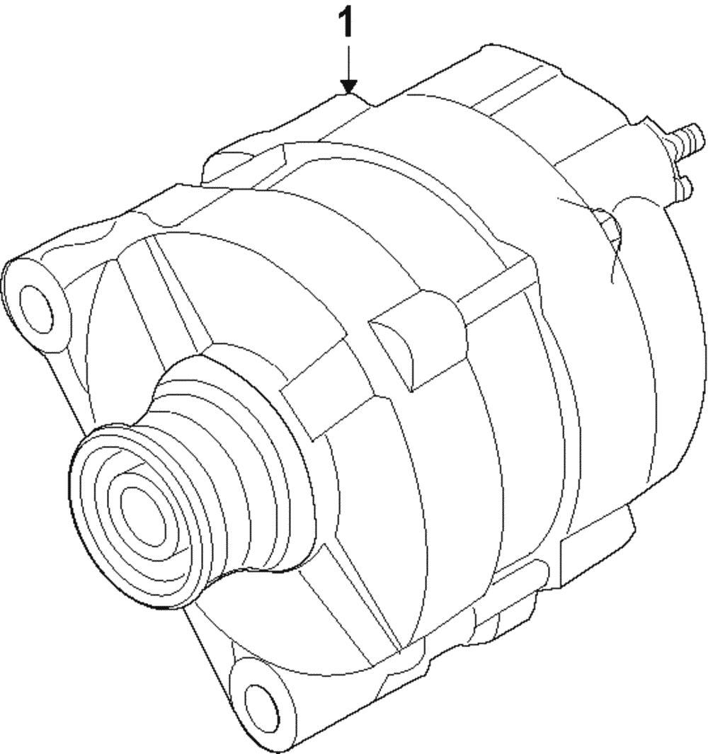 Details about Genuine Nissan Alternator 23100-4BA0A on