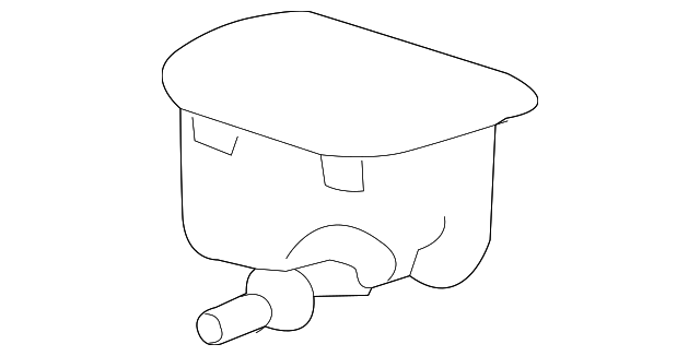 Genuine Honda 41935-R7L-003 Breather Tube Box