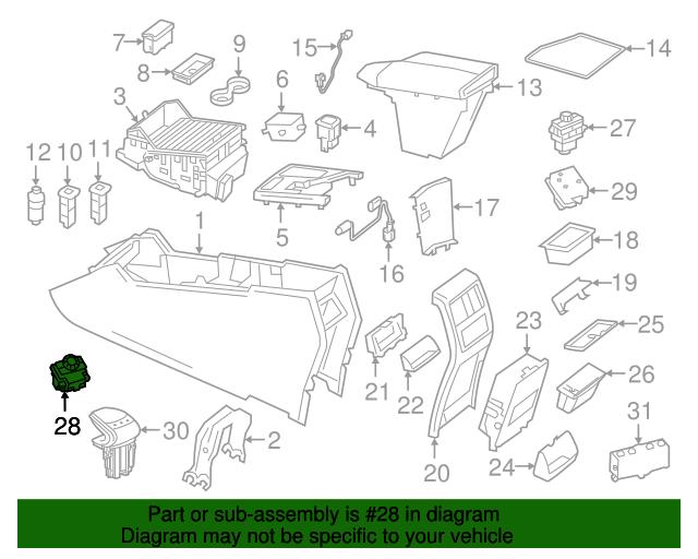 Switch - Mercedes-Benz (292-905-03-00)   MB OEM Parts
