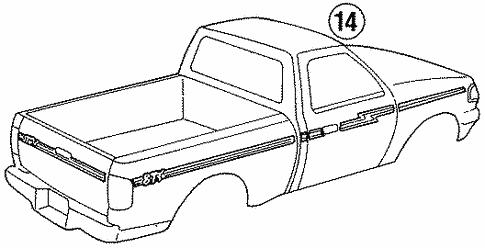 Ford F700 Cab