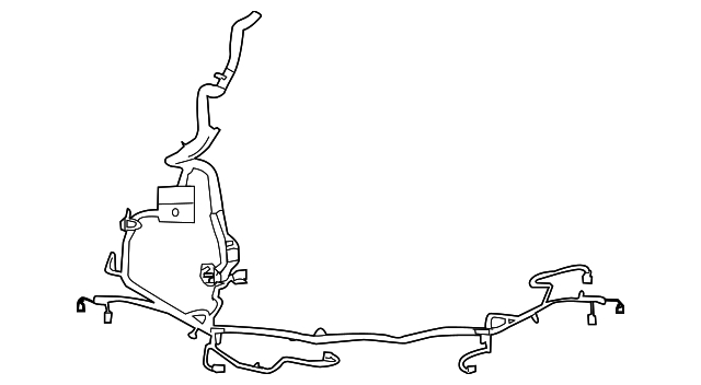 2010 ford mustang wire harness ar3z