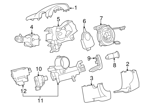 Ignition Lock For 2012 Chevrolet Traverse