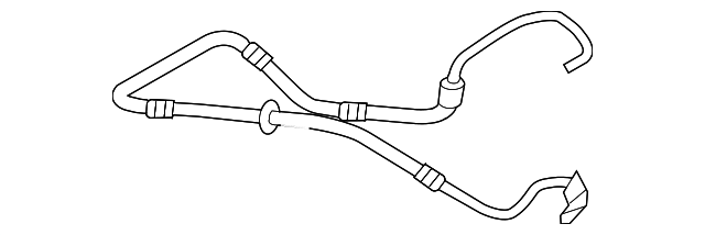 Genuine Ford Pressure Hose Cl1z