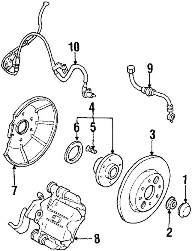 1999 Mercury Tracer Engine Diagram