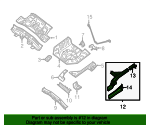 Side Rail Assembly - Nissan (75511-ET030)
