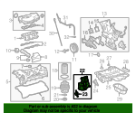 Oil Filter Housing - Toyota (15609-0P020)