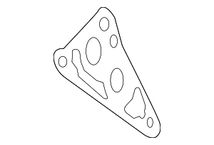 Oil Filter Housing Gasket - Toyota (15692-0P010)