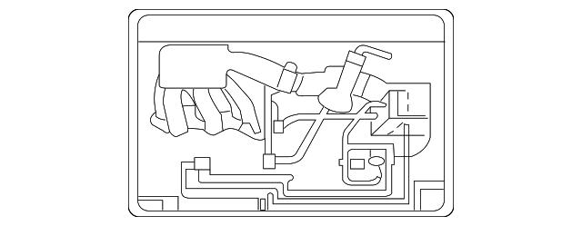 vacuum diagram - lexus (17792-0p030)