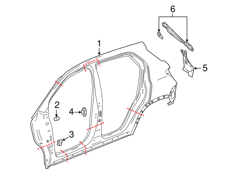 Gm Bumper Filler 84029815 as well Gm Mirror Assembly 23241465 additionally Hood And  ponents Scat besides Rear Seat Belts Scat in addition Interior Trim Scat. on 2016 chevrolet camaro copo