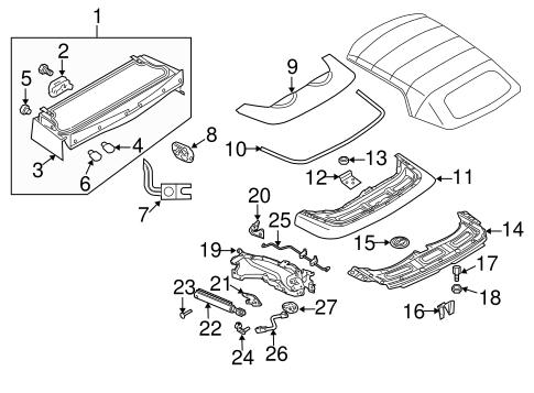 Saab 9 3 Parts Diagram - Free Wiring Diagram