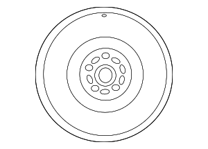 Wheel, Alloy - Mazda (9965-22-7570)