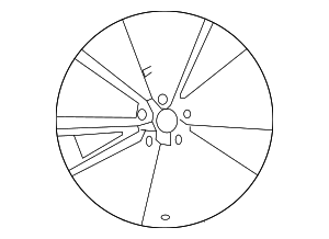 Wheel, Alloy - Mazda (9965-28-7590)