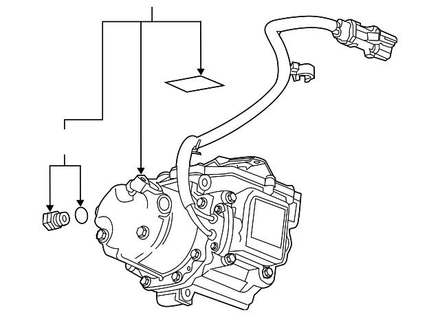 Air GM 15250696 Compressor